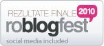 Rezultate finale roblogfest 2010