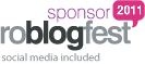 Sponsor roblogfest 2011